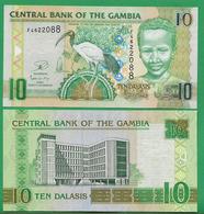 GAMBIA - 10 DALASIS – 2013 - UNC - Gambia