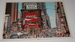 CARTE POSTALE DE NEW YORK CITY  - - Time Square