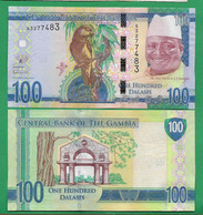 GAMBIA - 100 DALASIS – 2015 - UNC - Gambie