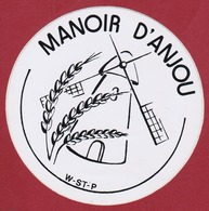 Sticker Autocollant Windmolen Windmill Moulin A Vent Manoir D' Anjou France Aufkleber Adesivo - Autocollants