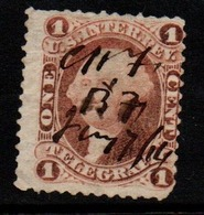 S060-. USA - 1862-1871 - SC#:R4c - USED - TELEGRAPH STAMP - Telegraph Stamps