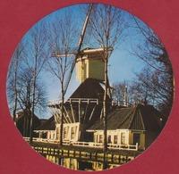 Sticker Autocollant Windmolen Windmill Moulin A Vent Korenmolen Wipstellingmolen 't Haantje Weesp Bona Margarine - Autocollants
