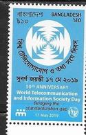 BANGLADESH, 2019, MNH, TELECOMMUNICATIONS, ITU,1v - Organizations