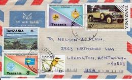 TANZANIA  - TANZANIA TO USA  FDC6855 - Tanzania (1964-...)