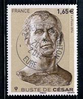 2014 N 4836 BUSTE DE CESAR OBLITERE CACHET ROND 20-2-2014 #228# - Frankreich