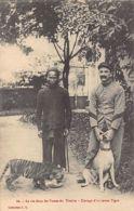 Vietnam - Breeding A Tiger Cub In A Military Outpost In Upper Tonkin - Publ. L.L. 66. - Viêt-Nam