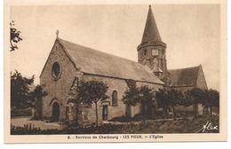 50 Environs De Cherbourg - Les Pieux (Manche) - L'église - Edition Alex - France