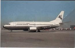 Boeing B737 CP Air Attachè Airlines B 737 Aereo Avion Canada C-FCPJ At Vancouver Aircraft Aviation Aiplane B-737 - 1946-....: Era Moderna