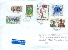 FRANCE  - FRANCE TO USA  FDC6867 - France