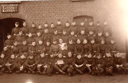 Carte Photo Militaire En Belgique. Dépot De St Bernard,édition Van Camp - Krieg, Militär