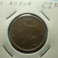 Czech Republic 10 Korun 1993 - Tschechische Rep.