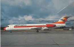 Alpi Eagles Sant Antonio Fokker 100 I-ALPK Airlines Aereo At Ginevra Aviation Aiplane - 1946-....: Era Moderna