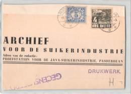 3584 01  NEDERLANDSCH INDIE PASOEROEAN JAVA TO BRISBANE AUSTRALIA - Netherlands Indies