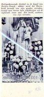 BERLARE-DONCK..1936.. HEILIGSCHENNENDE DIEFSTAL GOUDEN SIERADEN VAN HET MARIABEELD - Oude Documenten