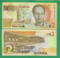 GHANA - 2 CEDIS - 2013 - UNC - Ghana