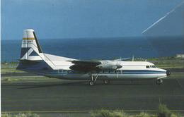 Aviaco Airlines Fokker F27 Aereo Avion At Gran Canaria Aircraft Aviation Aiplane - 1946-....: Era Moderna