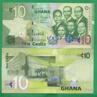 GHANA - 10 CEDIS - 2013 - UNC - Ghana