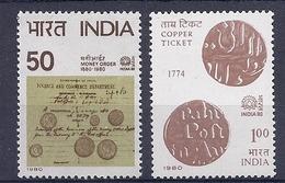 190031844    INDIA  YVERT    Nº  607/8  **/MNH - India