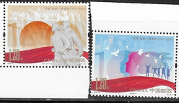 CHINA, 2019, MNH, 100th ANNIVERSARY OF THE MAY 4th MOVEMENT, 2v - Other