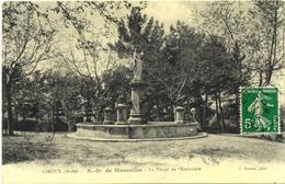 CPA DE LIMOUX (AUDE)  N. D. DE MARCEILLE - LA VIERGE DE L'ESPLANADE - Limoux