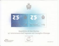 2013 San Marino Council Of Europe Miniature Sheet Of 2 MNH @ Well BELOW Face Value - San Marino