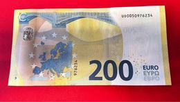 FRANCE 200 EURO - U003 G4 - Serie Europa - UD0050976234 - Charge 05 - U003G4 - UNC NEUF - 200 Euro