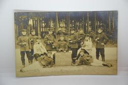 German Military Postcard Gruss Aus Zeithain 1912, 8. Komp., 106. Regt., IV. Korp - Manöver
