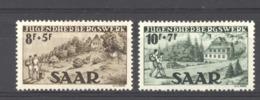 Sarre  :  Yv  250-51  * - 1947-56 Protectorate
