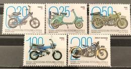 Bosnia And Hercegovina, Republic Of Srpska, 2019, Motorbikes (MNH) - Bosnien-Herzegowina