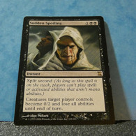 Magic The Gathering Card Time Spiral Sudden Spoiling Nº135/301 - Carte Nere