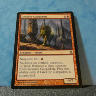 Magic The Gathering Card Time Spiral Greater Gargadon Nº161/301 - Carte Rosse