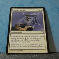 Magic The Gathering Card Champions Of Kamigawa Ghostly Prison Nº10/306 - Carte Bianche
