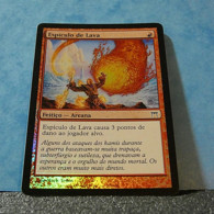 Magic The Gathering Card Champions Of Kamigawa Espículo De Lava Foil Nº178/306 - Carte Premium