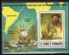 Saint Thomas 1982 Boat Bateau Fernando De MAGELLAN MNH - Andere(Zee)