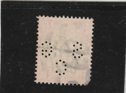 **** ANGLETERRE *** England ***  Typographié Perforé - N° 98 Côte 40€ Hors Perfo - Great Britain