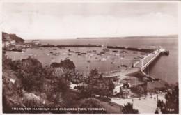 TORQUAY - OUTER HARBOUR AND PRINCESS PIER - Torquay