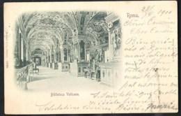 ROMA Biblioteca Vaticana Sent 1900 To Belgium - San Pietro