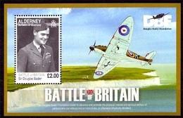 Alderney MiNr. Bl. 26 **, 70. Jahrestag Der Luftschlacht Um England - Alderney