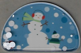 Target Gift Card - Unique Shape - Snow Globe Type With Moving Snow Dots - Gift Cards