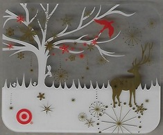 Target Gift Card - Clear See Thru Card - Gift Cards
