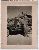 MILITARIA. GUERRE D'ALGERIE. PHOTO. TAZMALT ? JEEP. - Guerre, Militaire