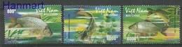 Vietnam 2008 Mi 3493-3495 MNH ( ZS8 VTN3493-3495dav37D ) - Poissons