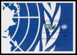 Palau, 1995, United Nations 50th Anniversary, Bird, MNH, Michel Block 37 - Palau