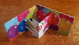 Target Gift Card - Fold Out 3D Cardboard - Gift Cards