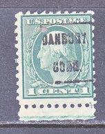 U.S. 462    Perf. 10    (o)    CONN.   1916  Issue - Precancels