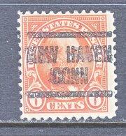 U.S. 558     Perf. 11  *  CONN.   1922-25  Issue - Precancels
