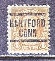 U.S. 585     Perf. 10  (o)  CONN.   1923-26  Issue - Precancels