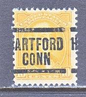 U.S. 715   Perf. 11 X 10 1/2  (o)  CONN.   1932  Issue - Precancels