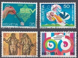 HELVETIA - SUISSE - SVIZZERA - Lotto Composto Da 4 Valori Usati: Yvert1327/1330. - Usati