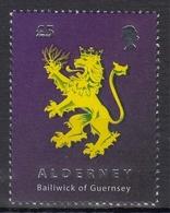Alderney MiNr. 338 ** Freimarke: Wappen - Alderney